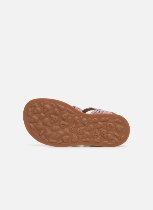Sandales et nu-pieds Pom d Api Plagette Strap Multicolore vue haut
