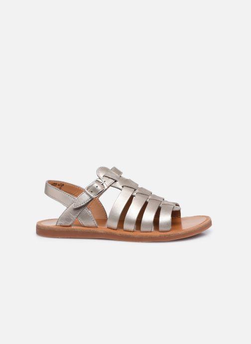 Sandali e scarpe aperte Pom d Api Plagette Strap Oro e bronzo immagine posteriore