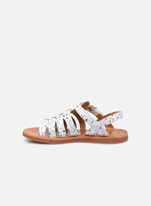 Sandali e scarpe aperte Pom d Api Plagette Strap Bianco immagine frontale