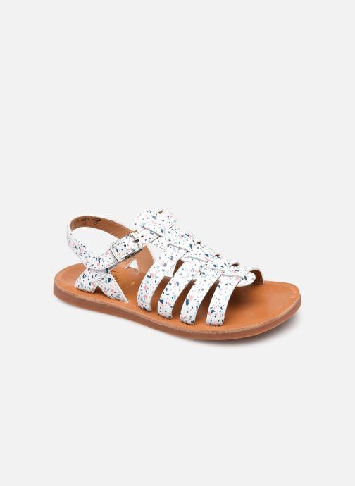Sandali e scarpe aperte Pom d Api Plagette Strap Bianco vedi dettaglio/paio