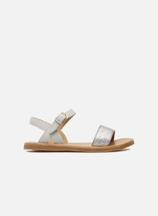 Sandales et nu-pieds Pom d Api Plagette Buckle Tao Argent vue derrière