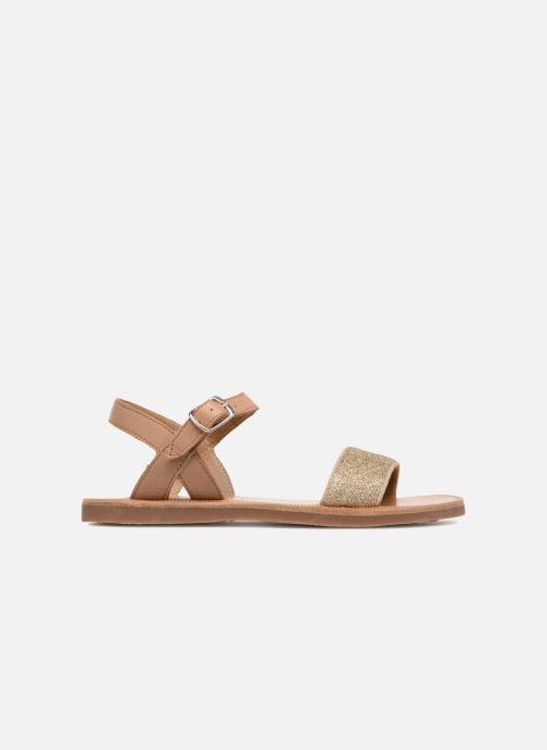Sandales et nu-pieds Pom d Api Plagette Buckle Tao Marron vue derrière