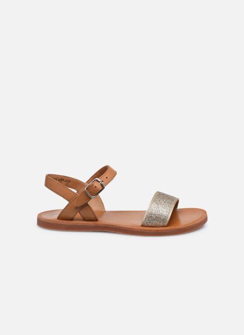 Sandali e scarpe aperte Pom d Api Plagette Buckle Tao Marrone immagine posteriore