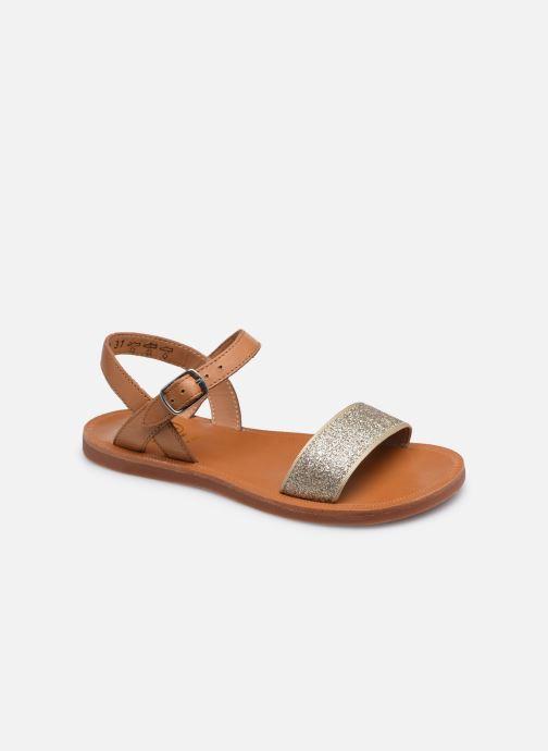 Sandali e scarpe aperte Pom d Api Plagette Buckle Tao Marrone vedi dettaglio/paio