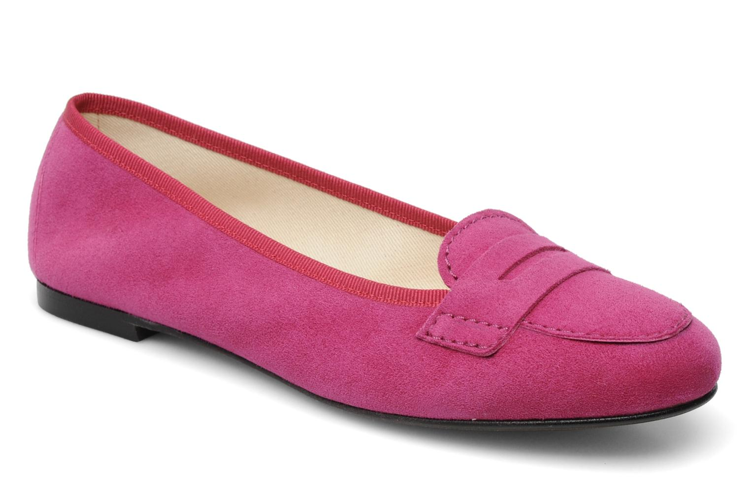 Loafers Valensi Vaness Pink detailed view/ Pair view