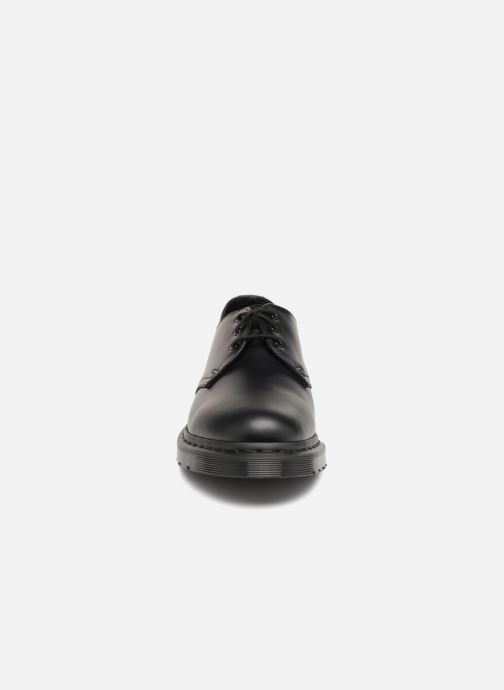 Schnürschuhe Dr. Martens 1461 M schwarz schuhe getragen