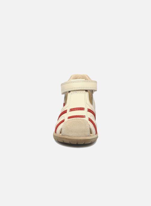 Sandales et nu-pieds Mod8 Ilasur Beige vue portées chaussures