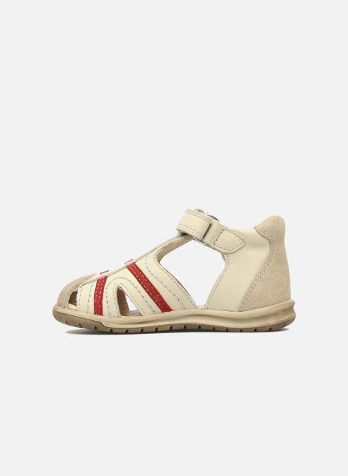 Sandales et nu-pieds Mod8 Ilasur Beige vue face