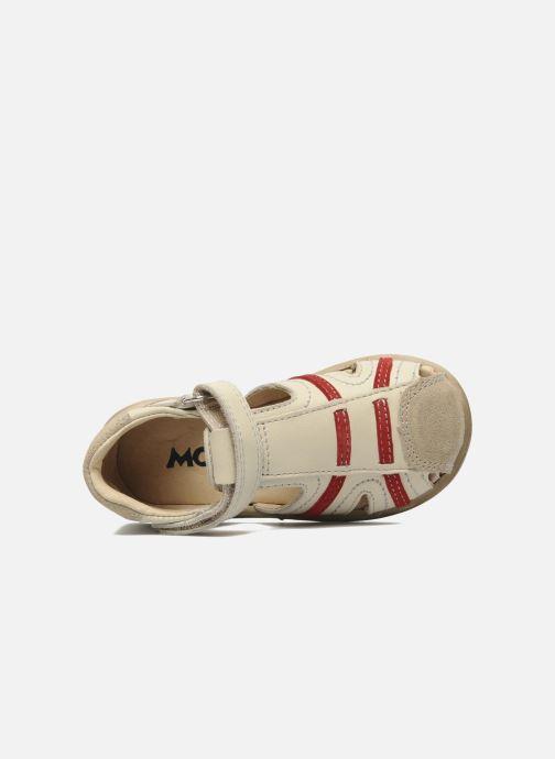 Sandales et nu-pieds Mod8 Ilasur Beige vue gauche
