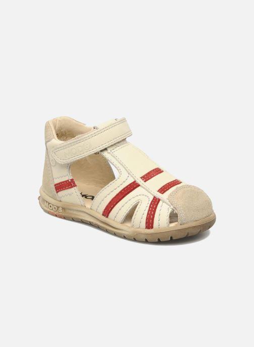 Sandales et nu-pieds Mod8 Ilasur Beige vue détail/paire
