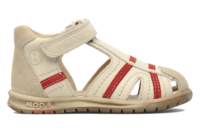 Sandales et nu-pieds Mod8 Ilasur Beige vue derrière