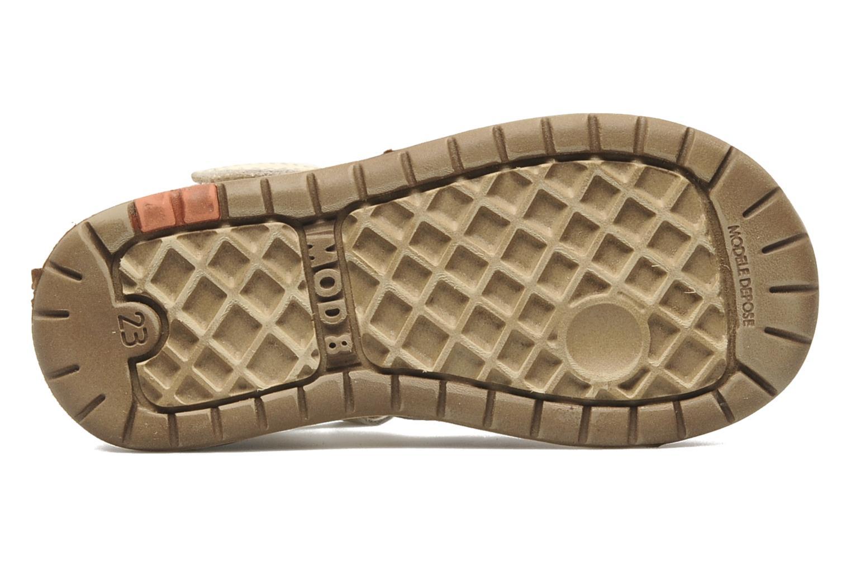 Sandales et nu-pieds Mod8 Ilasur Beige vue haut