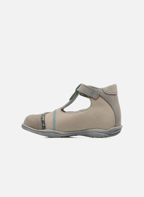 Botines de verano Little Mary Motard Beige vista de frente
