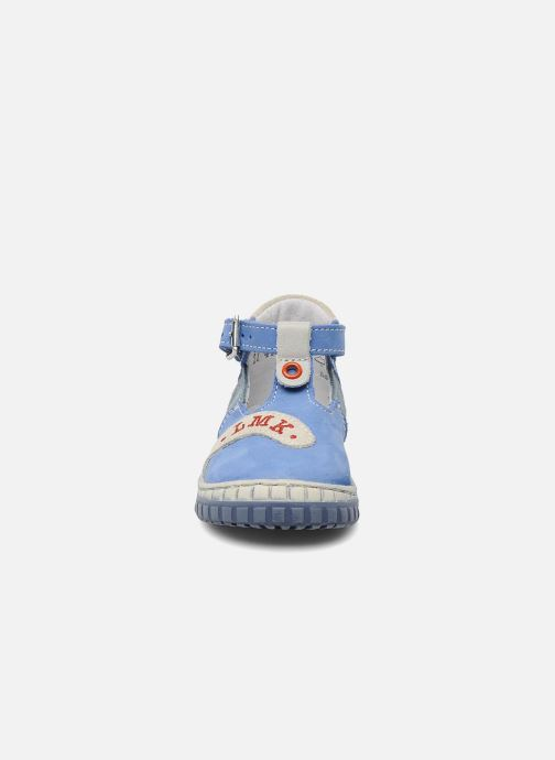 Summer boots Little Mary Marius Blue model view
