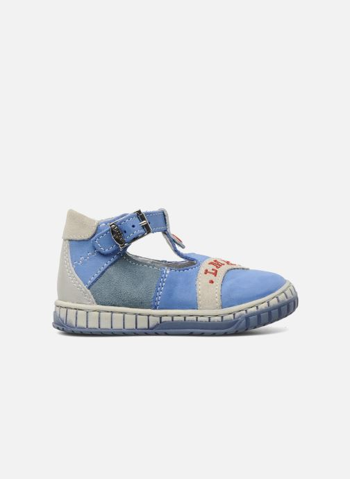 Summer boots Little Mary Marius Blue back view