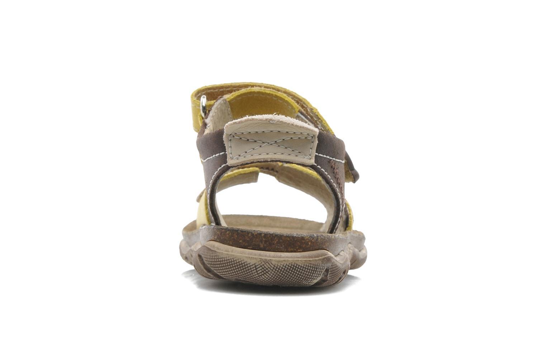 Sandales et nu-pieds Little Mary Moca Marron vue droite