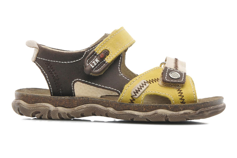 Sandales et nu-pieds Little Mary Moca Marron vue derrière