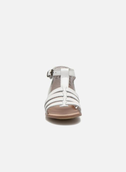 Sandalias Little Mary Hosmose Blanco vista del modelo