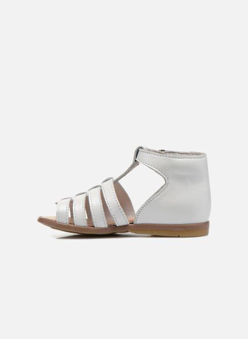 Sandales et nu-pieds Little Mary Hosmose Blanc vue face