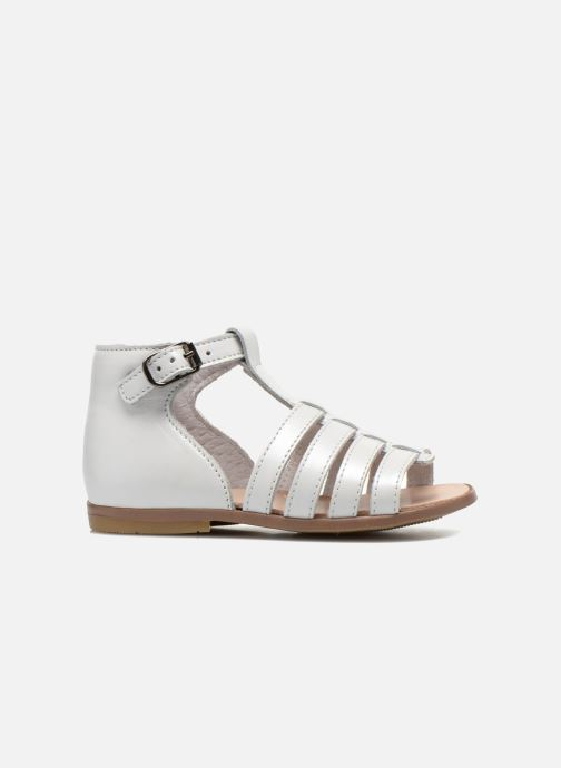 Sandalias Little Mary Hosmose Blanco vistra trasera