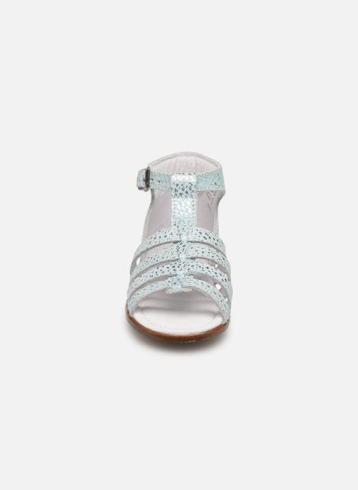 Sandales et nu-pieds Little Mary Hosmose Bleu vue portées chaussures