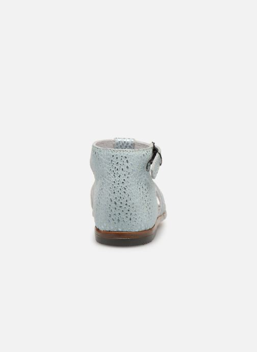 Sandales et nu-pieds Little Mary Hosmose Bleu vue droite