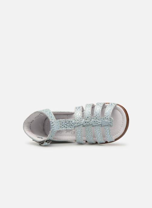 Sandales et nu-pieds Little Mary Hosmose Bleu vue gauche