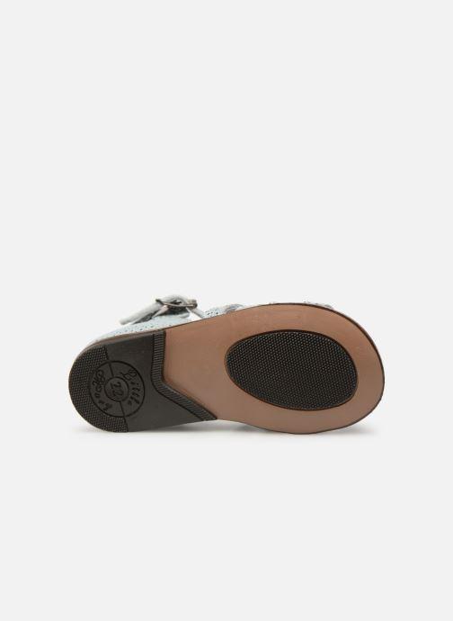 Sandales et nu-pieds Little Mary Hosmose Bleu vue haut