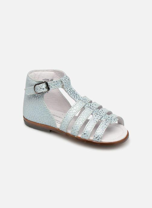 Sandales et nu-pieds Little Mary Hosmose Bleu vue détail/paire