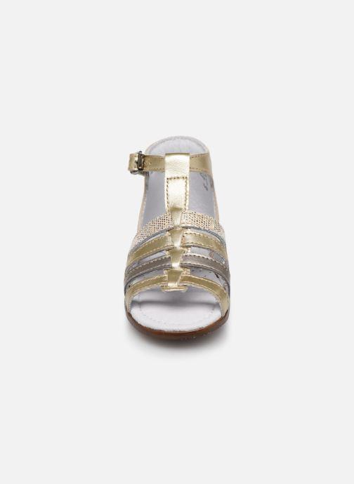 Sandali e scarpe aperte Little Mary Hosmose Oro e bronzo modello indossato