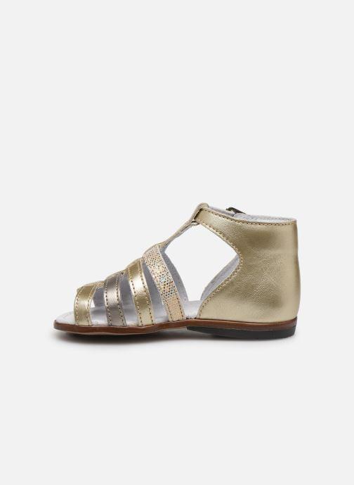 Sandales et nu-pieds Little Mary Hosmose Or et bronze vue face
