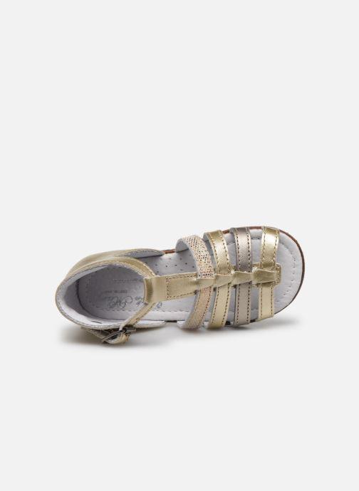 Sandales et nu-pieds Little Mary Hosmose Or et bronze vue gauche