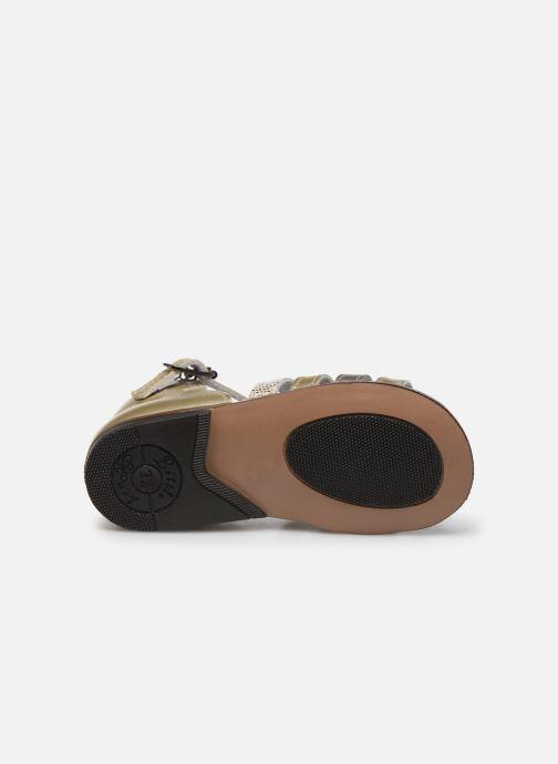 Sandales et nu-pieds Little Mary Hosmose Or et bronze vue haut