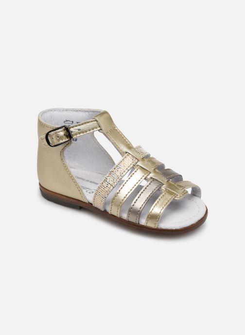 Sandales et nu-pieds Little Mary Hosmose Or et bronze vue détail/paire