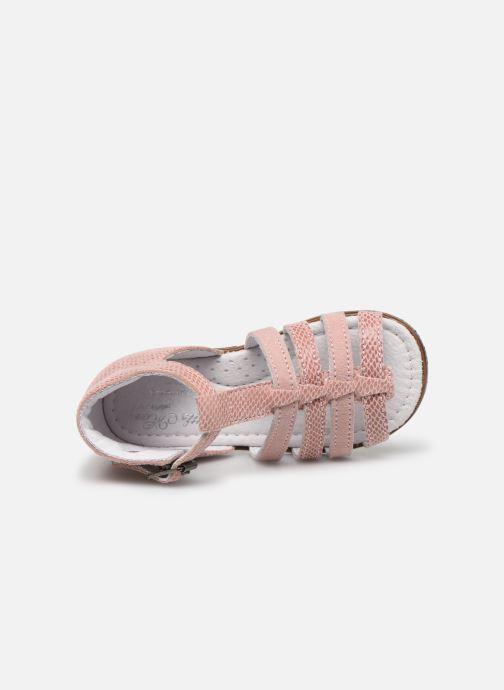 Sandales et nu-pieds Little Mary Hosmose Rose vue gauche