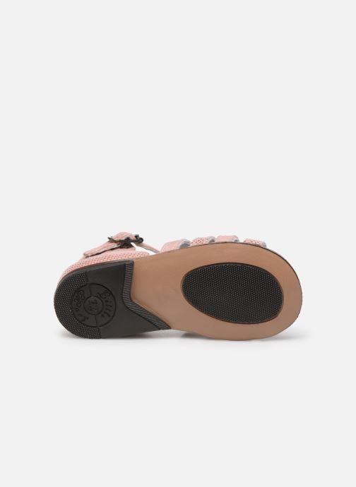 Sandales et nu-pieds Little Mary Hosmose Rose vue haut