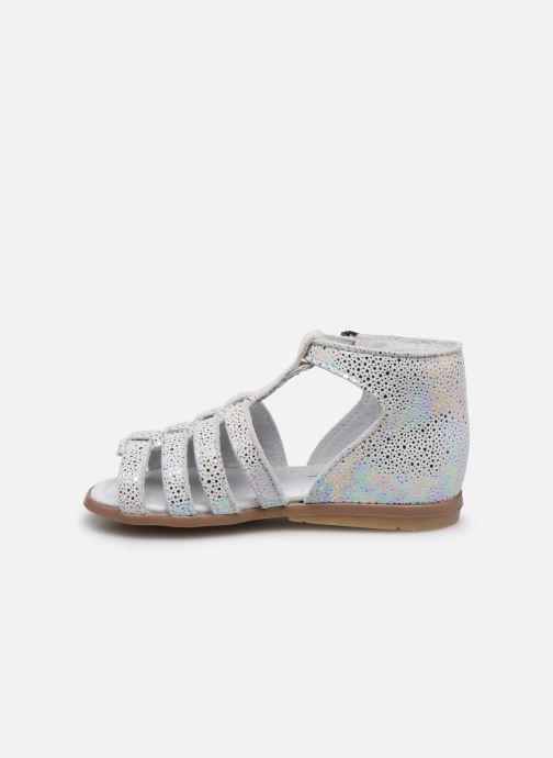 Sandali e scarpe aperte Little Mary Hosmose Bianco immagine frontale