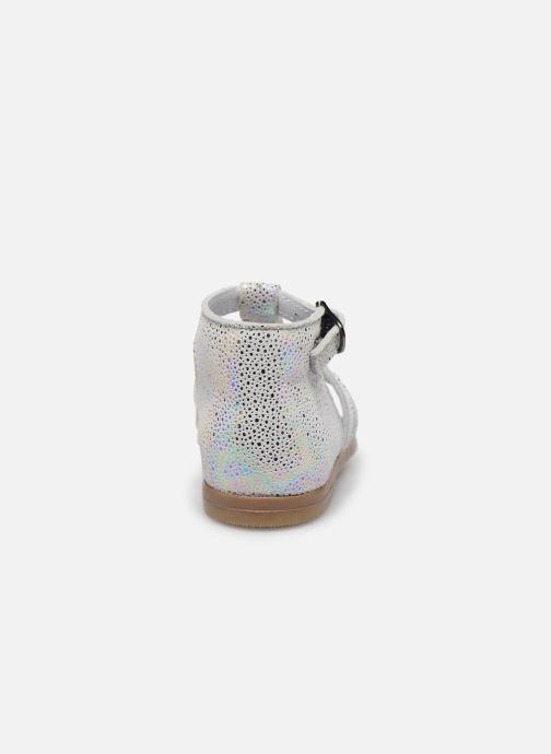 Sandali e scarpe aperte Little Mary Hosmose Bianco immagine destra