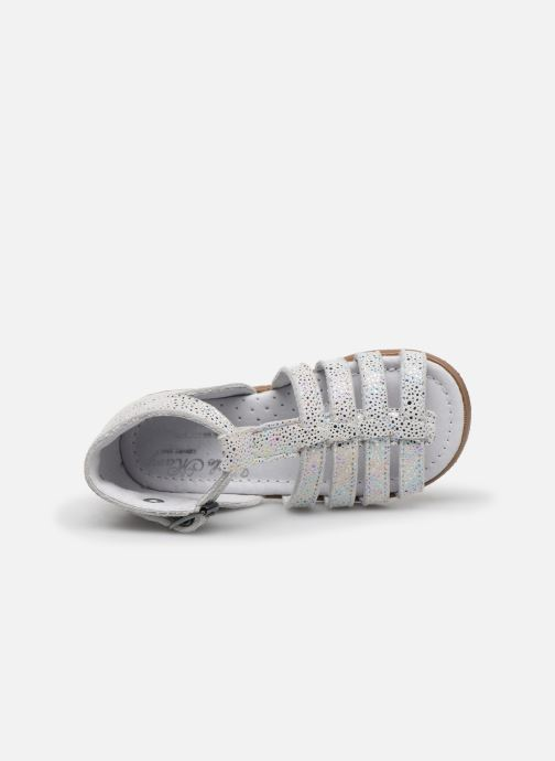 Sandali e scarpe aperte Little Mary Hosmose Bianco immagine sinistra