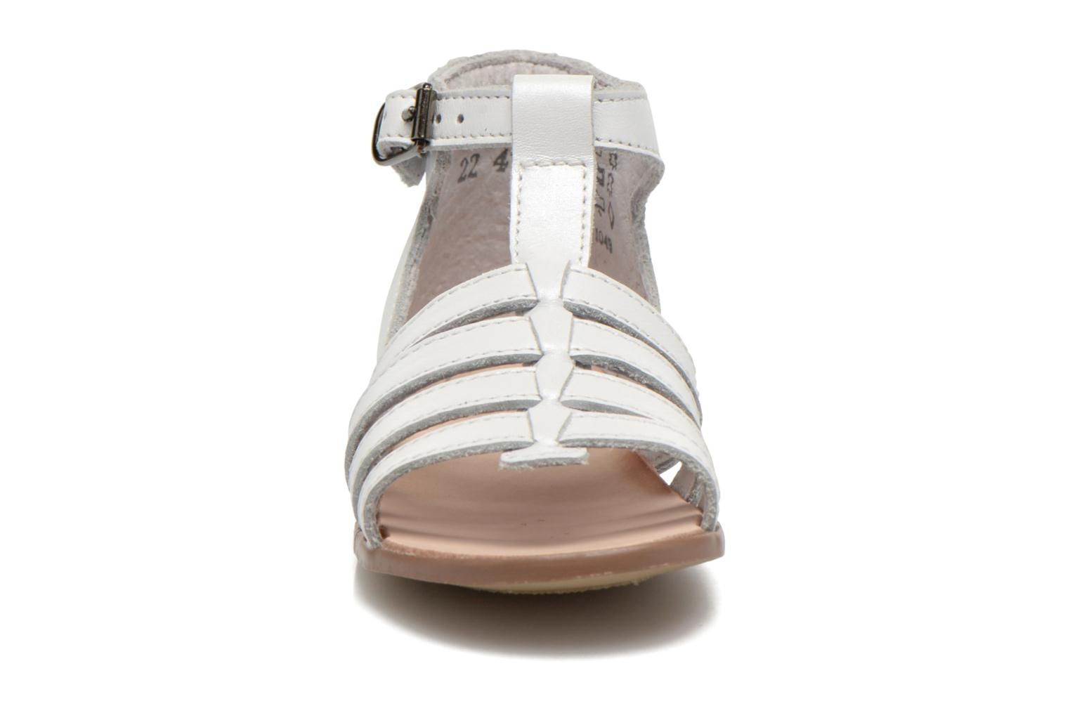 Sandals Little Mary Hosmose White model view