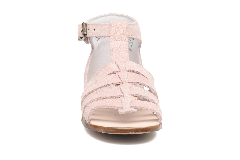 Sandalen Little Mary Hosmose rosa schuhe getragen