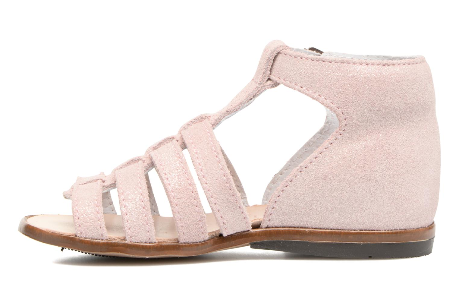 Sandalias Little Mary Hosmose Rosa vista de frente