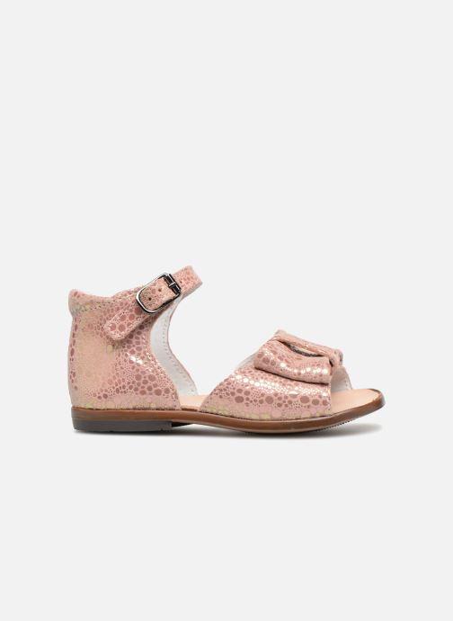 Sandales et nu-pieds Little Mary Maryse Rose vue derrière