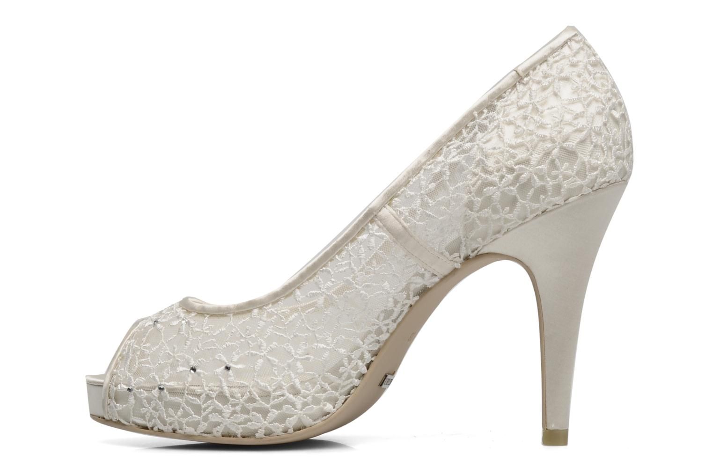 Zapatos de tacón Menbur Halti Blanco vista de frente