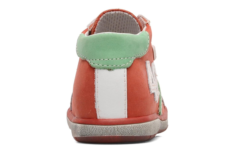 Bottines et boots Bopy Zatos Rouge vue droite