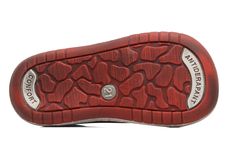 Stiefeletten & Boots Bopy Zatos rot ansicht von oben