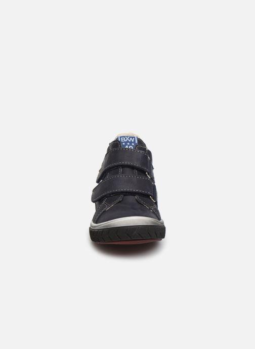 Baskets Bopy Vengali Bleu vue portées chaussures