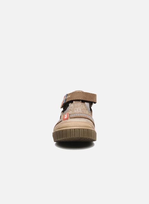 Bottines d'été Bopy Bataclan Marron vue portées chaussures