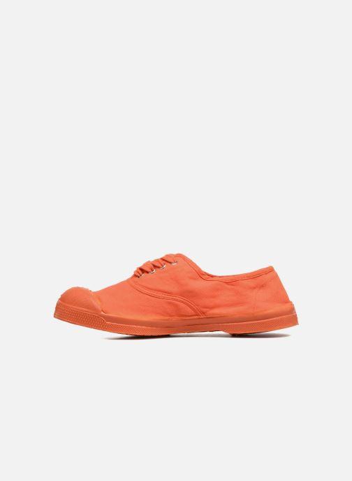 Deportivas Bensimon Tennis Colorsole E Naranja vista de frente