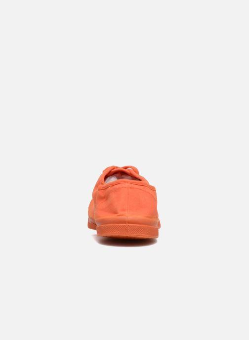 Sneakers Bensimon Tennis Colorsole E Orange Bild från höger sidan